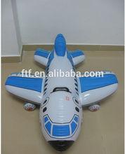 inflatable pvc plane model for wholesale/Children's plane toys