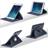 New for iPad Mini case 360 Degree Rotating Smart Leather Wallet Flip Stand Case Cover With Sleep Wake