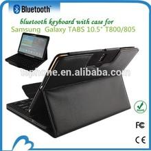 Detachable 10.5 inch tablet keyboard case for Samsung Galaxy Tab S T800/805