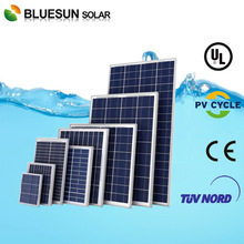 Bluesun Poly 250w stock solar panel and solar module for EU market with custom clearence