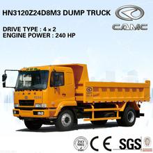 CAMC 4x2 small dump truck for sale (light dump truck)