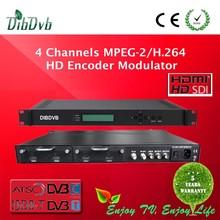 MPEG2 HD MPEG4 HDMI to RF ATSC-T modulator