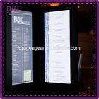 Promotional special price light club preferred illuminated LED menu covers (Patent 2014-2-0239452.0)/ menu holder