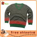 La muestra libre caliente venta! Venta al por mayor puede ser la ropa del bebé del diseño de punto suéteres para los niños