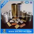 0.02 - 0.04 de espesor 8011 farmacéutica papel de aluminio / aluminio