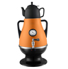 3.2L stainless steel electric samovar with pocerlain teapot CE,ROHS,GS