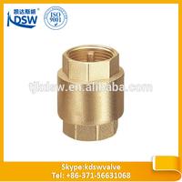 high quality brass vertical check valve