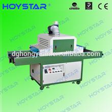 conveyor belt unidade de secagem uv for screen printing metal sheet
