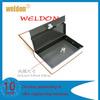 book-shaped metal stash safety box