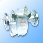 free ball float type steam trap valve