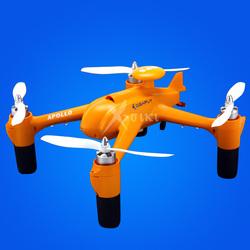 AIO design 350mm big radio control GPS quadcopter drone Apollo for FPV vs walkera QR X350