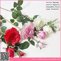 Pu material surya rose flor, Flor artificial por atacado manufaturer