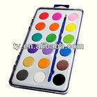 18 colors water color paint