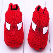 Hot sales Pure cotton Spiderman design shoes,Latest Design Cute soft Baby Shoes
