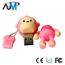 Business Gift Promotional Cartoon Character USB Flash Drive OEM Manufacture