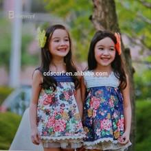 2015 hot sale girl flower fancy dress costumes, children girl party wear western dress, new model girl dress 2015