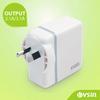 AU plug travel charger dual usb wall charger 5V 2A