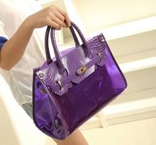 2014 new trendy plastic clear pvc beach bag composite bag