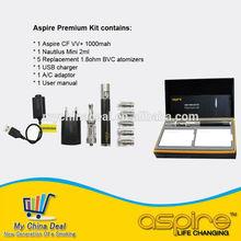 New design aspire kit Aspire Premium Kit with mini nautilus tank