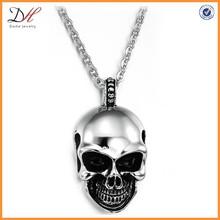 Punk Style Stainless steel men's skull jewelry