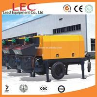 high quality mobile mini trailer korea concrete pump