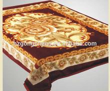 Super soft high quality Korean-style embossed Raschel knitting blankets