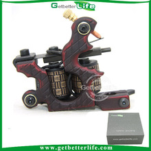 Getbetterlife High Quality Manual Shader Copper Contact 10Coils Iron Machine Tattoo