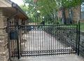 Puertas de metal modelos/límite de la pared puertas/granja puertas