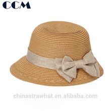 Stylish Child Sewn Braid Bucket Hat Girl