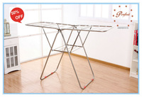 butterfly stainless modern Telescopic clothes drying rack PW14D04 household indoor