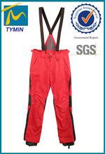 venda quente da china tymin calças de esqui ao ar livre o homem calças de esqui impermeável geral abibaba atacado