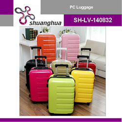 2015 good PC ABS Trolley Luggage