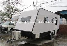 2014 promotion price RV trailer , caravan motor home