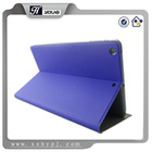twill pu leather Case more views folio Stand Auto Sleep/Wake for Apple iPad air - blue