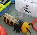 Inflable modelo de abeja/inflable mini abeja juguete para el niño/inflable del pvc de la abeja de réplica