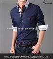 a rayas de contraste camisa de los hombres ropa coreano