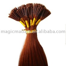 Top quality stick hair(100% remy human hair)