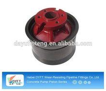 rubber piston for delivery concrete pump