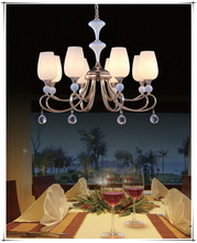 Hot selling modern pendant lamp cheap indoor crystal ceiling light chandelier