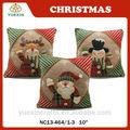 regalo de vacaciones de navidad decorativos cojín almohada cubierta