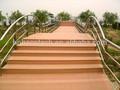 Belle WPC jardin ponts en bois pour loisirs de marche
