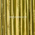 Olive green 3d embossed Italy velvet curtain fabric
