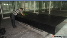 Used industry producing and lab measuring Black Granite Surface Plates