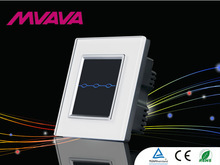 Hot new design, 3 gang black, Remote & Touch screen light control switch,LED, Electric micro switch, OEM, wall light switch