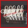 optical flipper 'white or black polypropylene framework + 4pcs optical glass lenses'