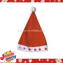 Flashing santa hat / santa hat with lights / knit santa hat