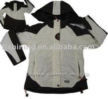 nylon waterproof snowboard jacket