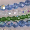 chapado de venta al por mayor de joyería de cristal de bricolaje del grano de cristal strand