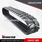 Construction Machinery Parts marketing Rubber crawler