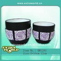 ceramic paint flower vase and pot planters